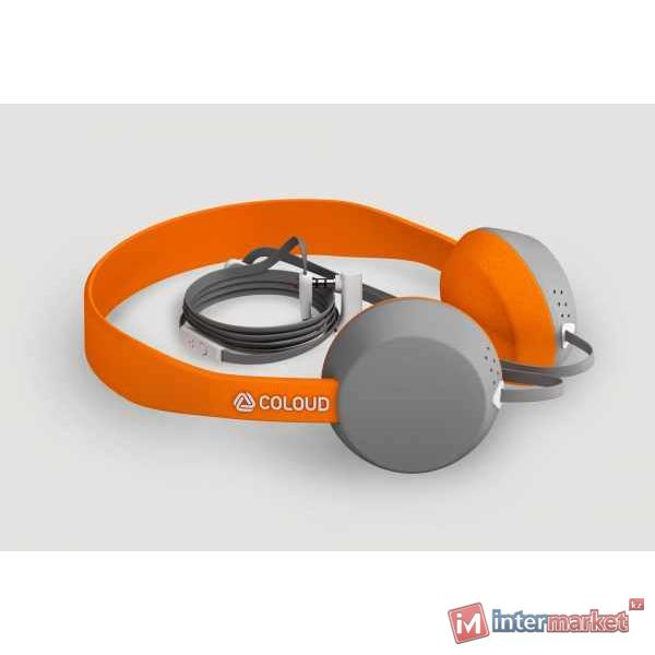 Наушники Coloud Knock, Orange/Gray