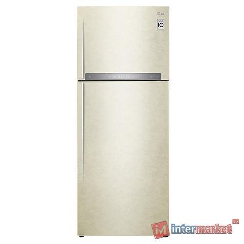Холодильник LG GC-H502 HEHZ, Бежевый