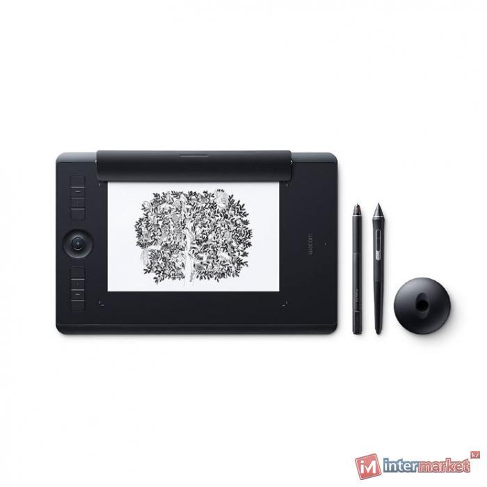 Графический планшет Wacom Intuos Pro Medium Paper Edition R/N (PTH-660P), Чёрный