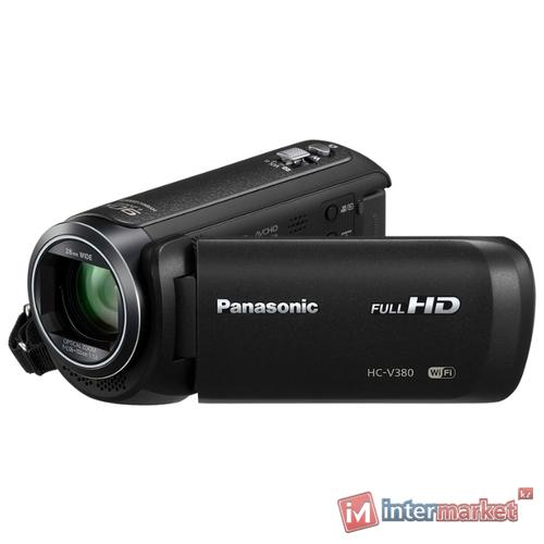 Видеокамера PANASONIC HC V 380 EE K (black)