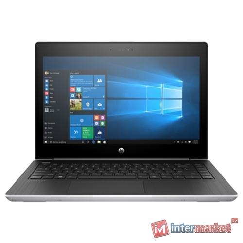 Ноутбук HP Probook 430 G5 / UMA i3-7100U 430 G5 / 13.3 FHD AG UWVA HD / 4GB 1D DDR4 2400 / 500GB 7200 / W10p64 / 1yw / 720p / Clickpad / Intel 8265 AC 2x2 nvP +BT 4.2 / Natural Silver / FPR