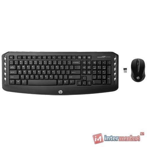 Клавиатура + мышь HP LV290AA Black USB