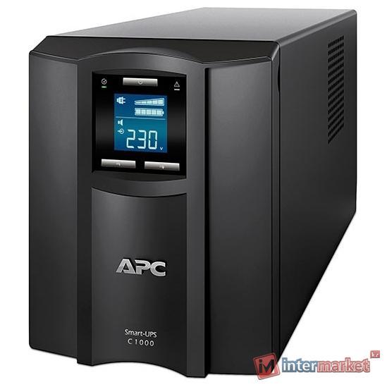 Источник бесперебойного питания APC by Schneider Electric Smart-UPS C 1000VA LCD