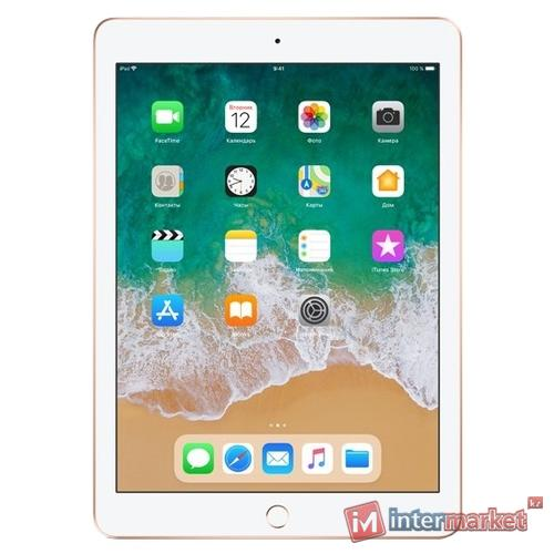 Планшет Apple iPad (2018) 32Gb Wi-Fi, Gold