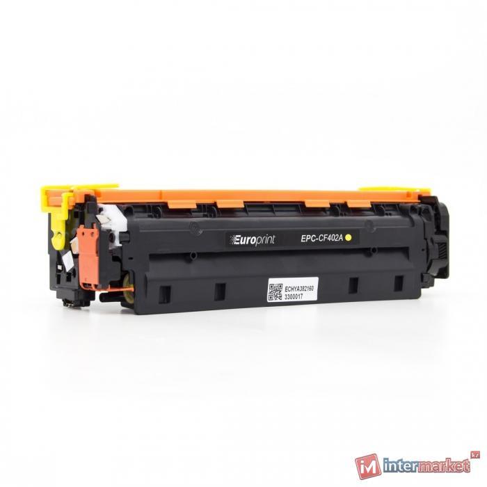 Картридж Europrint EPC-CF402A Жёлтый