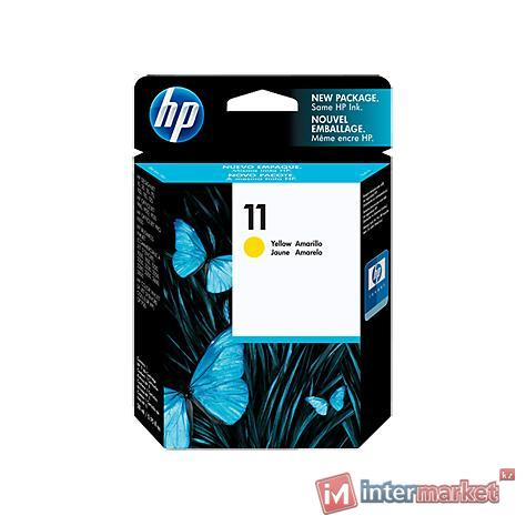 Картридж HP 11 C4838AE, Yellow