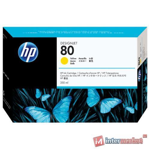 Картридж HP C4848A №80, Yellow