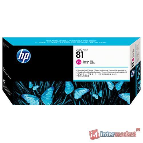 Печатающая головка HP C4952A 81, Magenta (с устройством очистки)