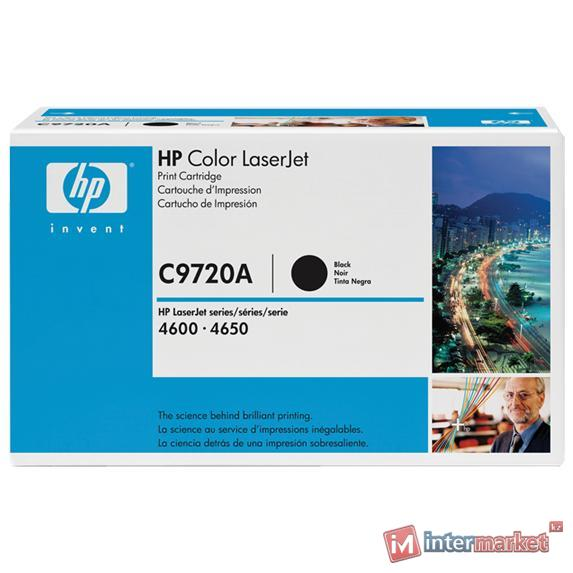Черный картридж HP Color LaserJet C9720A (C9720A)