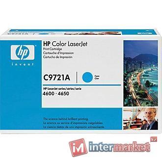 Картридж HP C9721A - Cyan