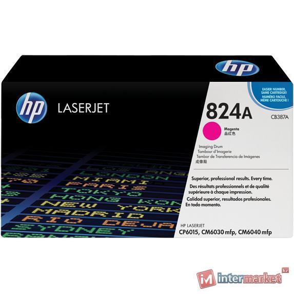 Пурпурный барабан для обработки изображений HP 824A LaserJet (CB387A)