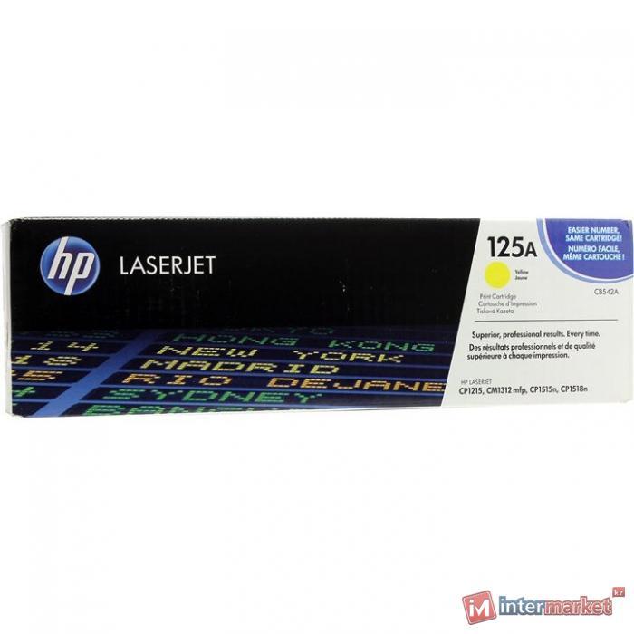 Оригинальный картридж HP CB542A