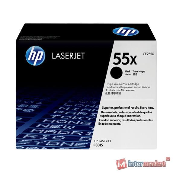 Картридж HP CE255X - Black