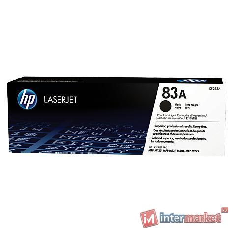 Черный лазерный картридж HP 83A LaserJet (CF283A)