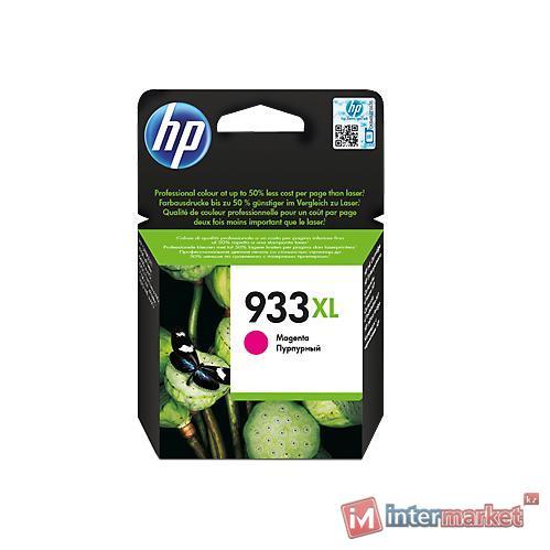 Струйный картридж HP 933XL (CN055AE, Пурпурный)