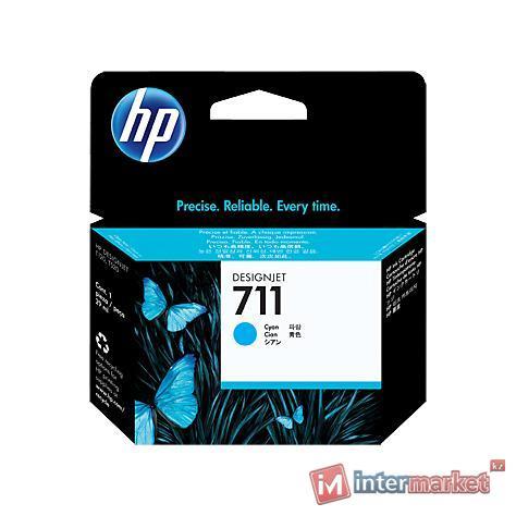 Картридж HP 711 (CZ130A), Cyan