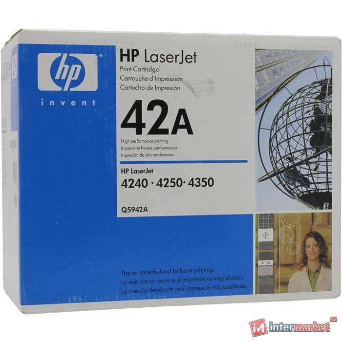 Оригинальный картридж HP Q5942A