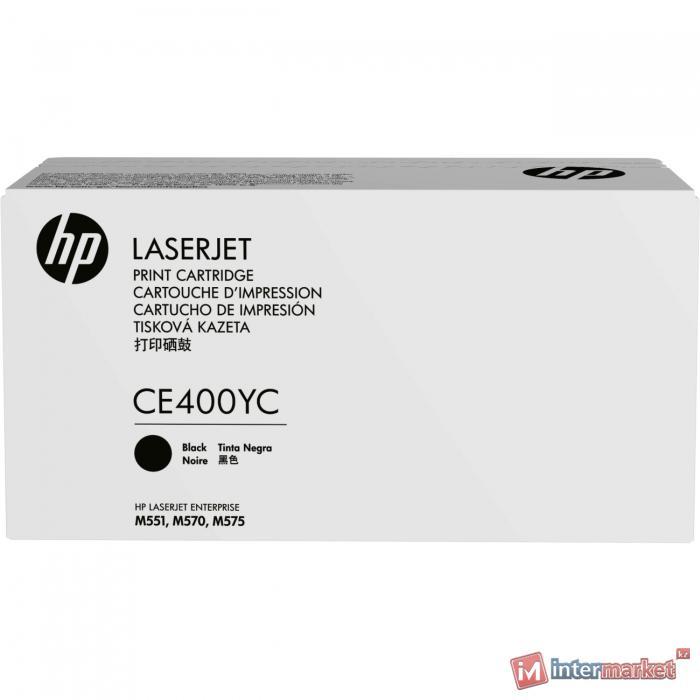 Картридж лазерный HP CE400YC Черный