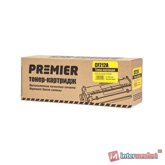 Желтый лазерный картридж Premier CF212A (аналог HP 131A LaserJet)