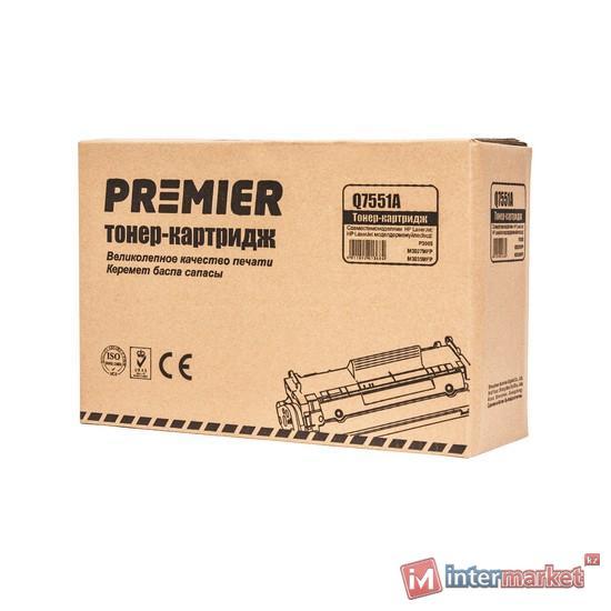 Черный лазерный картридж Premier Q7551A (аналог HP 51A LaserJet)