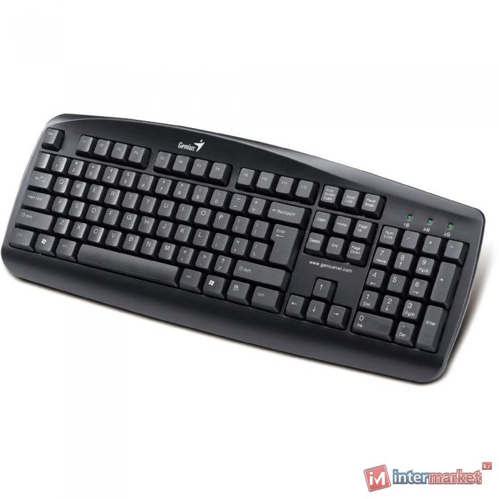 Клавиатура PS/2 Genius KB-110 Black