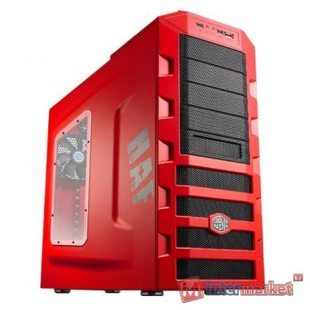 Корпус CoolerMaster HAF 922, RC-922M-RWN2-GP, black/red