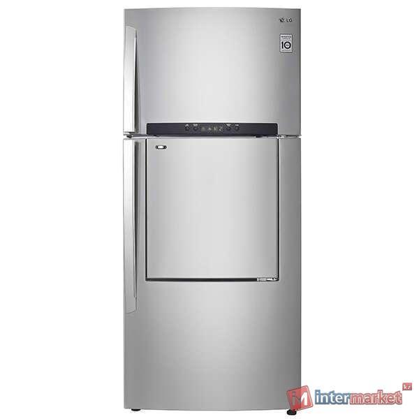 Холодильник LG GN-A702HMHZ, Серебро