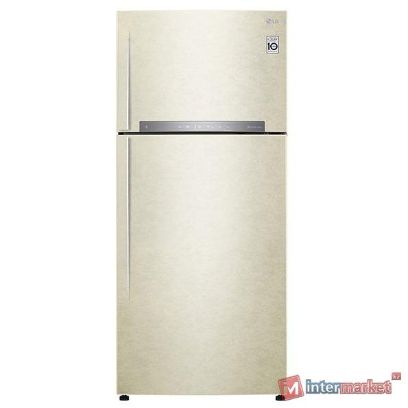 Холодильник LG GN-H702HEHZ, Бежевый