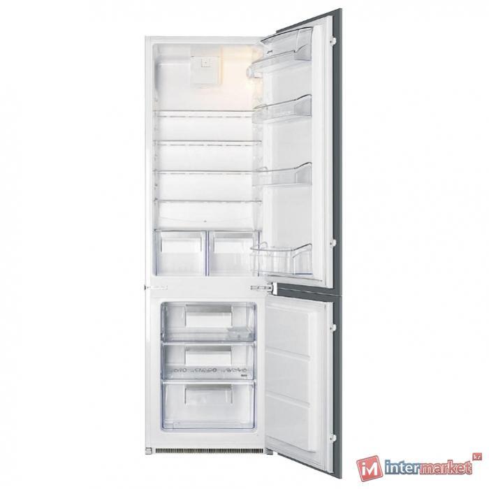 Холодильник встраиваемый SMEG-BI C7280F2P , Белый