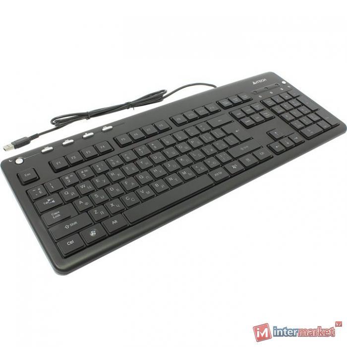 Клавиатура A4Tech KD-126-1, Black, USB