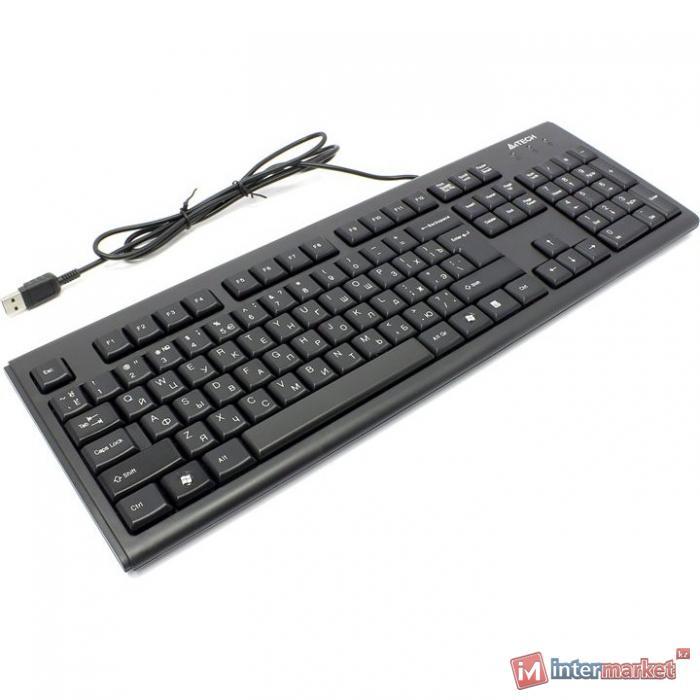 Клавиатура A4Tech KR-83, Black, USB