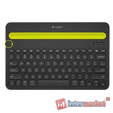 Клавиатура Logitech Multi-Device Keyboard K480 Black Bluetooth