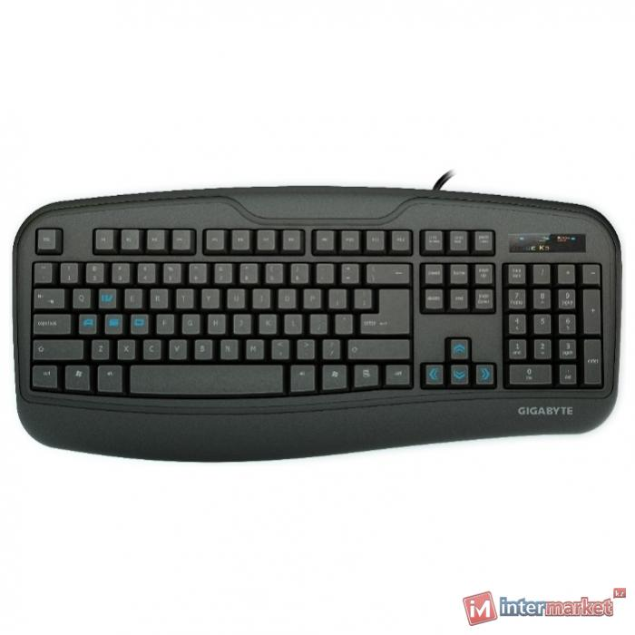 Клавиатура GIGABYTE Force K3 Black USB