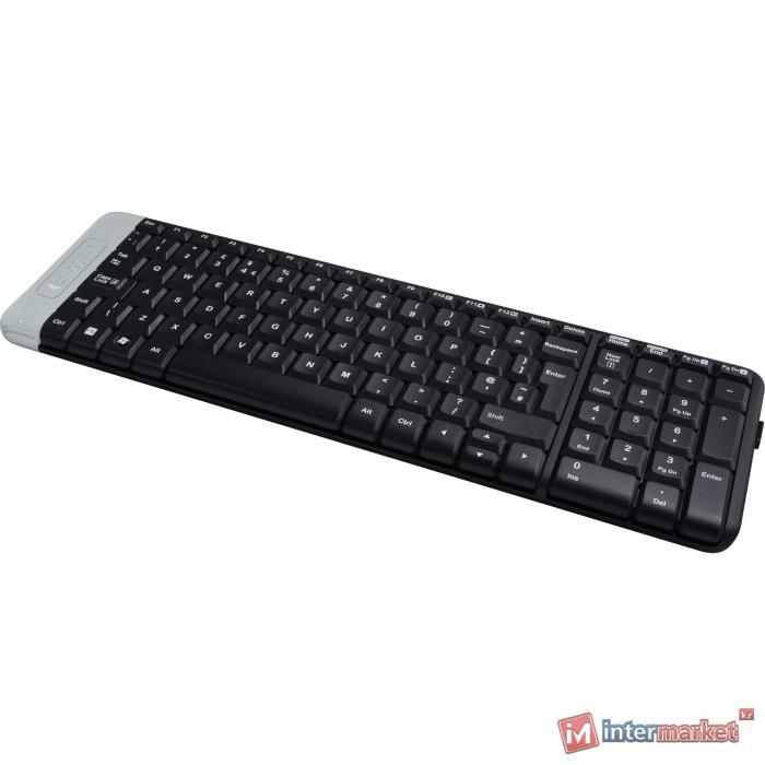 Клавиатура Logitech K230, Wireless, Black, USB, 2 х AAA