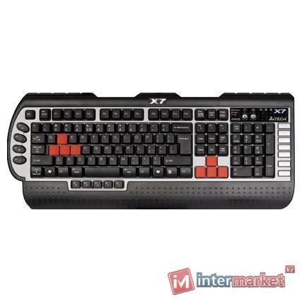 Клавиатура  A4tech G800V Rus/Kaz/Eng