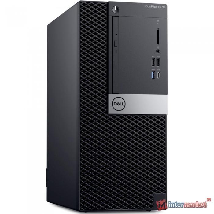 Компьютер Dell OptiPlex 5070 (Tower/Core i5/9500/3 GHz/4 Gb/1000 Gb/DVD+/-RW/Graphics/UHD 630/256 Mb/Windows 10/Pro/64)