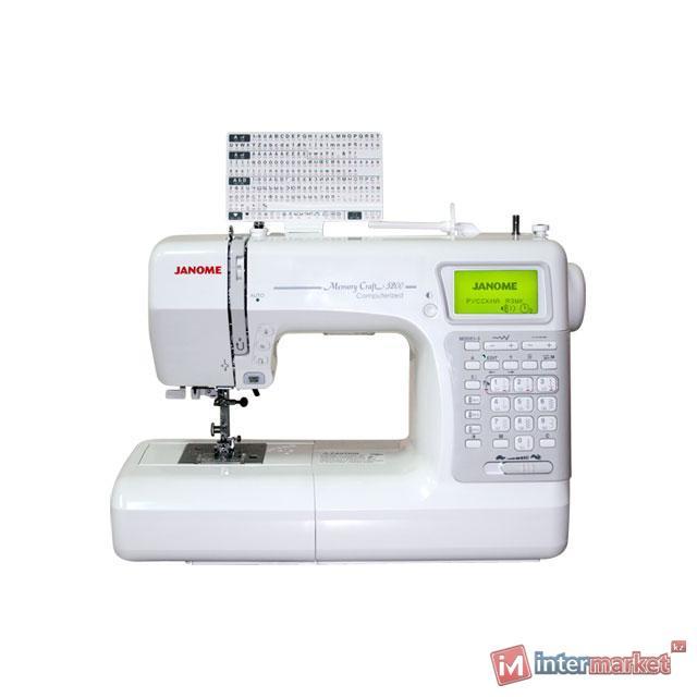 Швейная машина Janome Memory Craft 5200