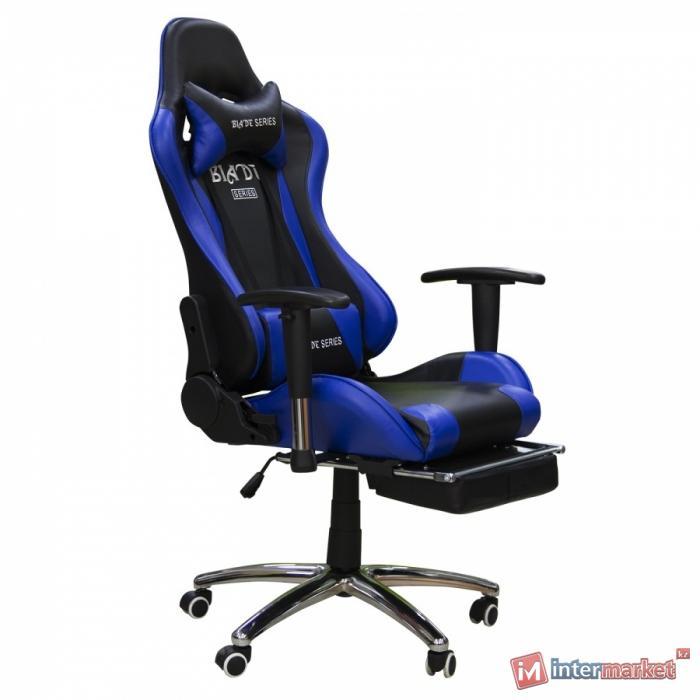 Кресло игровое Zeta 103 (ВИ), сине-черный