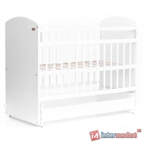 Кровать детская Bambini Элеганс М 01.10.08 Белый