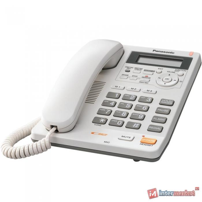 Телефон Panasonic KX-TS2570RUW