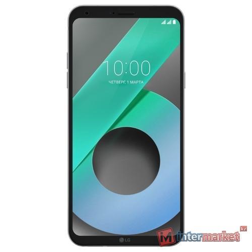 Смартфон LG Q6 M700AN Ice Platinum