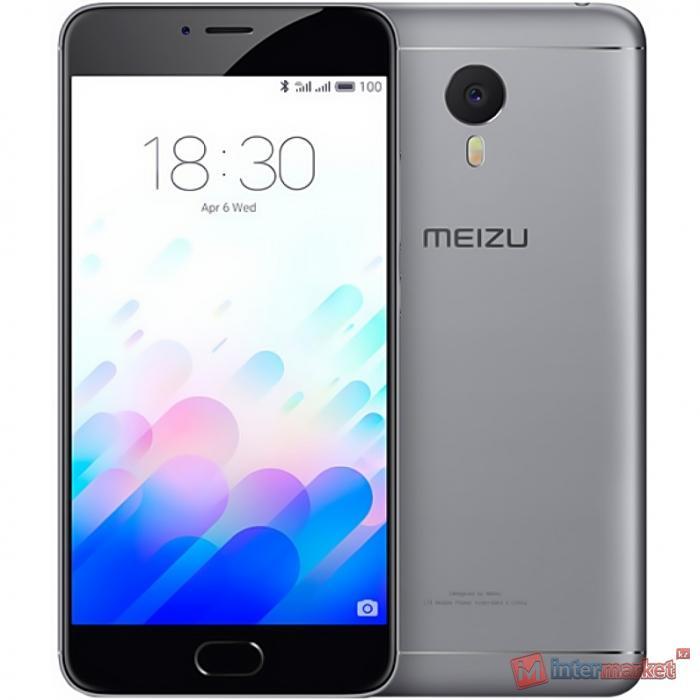 Смартфон Meizu M3 Note 16Gb, Gray