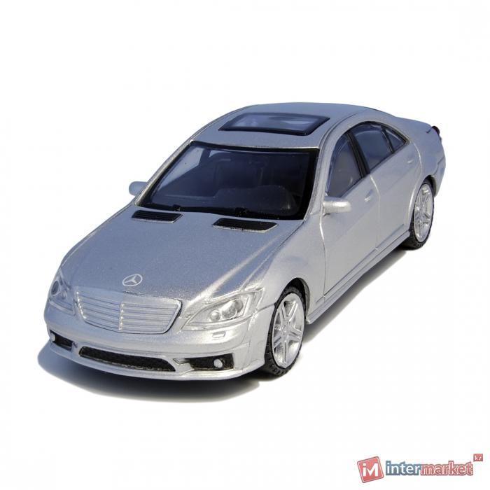 Металлическая машинка RASTAR 1:43 Mercedes-Benz S 63 AMG 37100S, серебристый