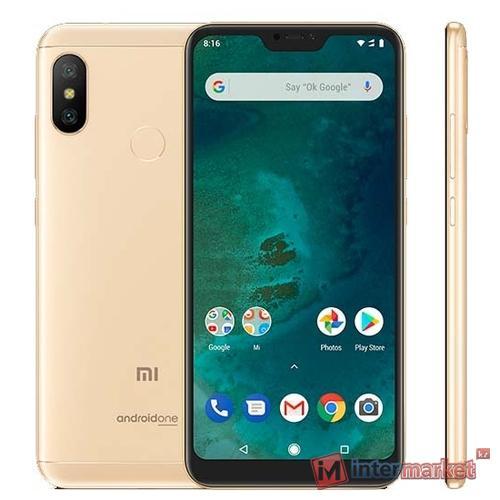 Смартфон Xiaomi Mi A2 Lite 4/64GB Gold