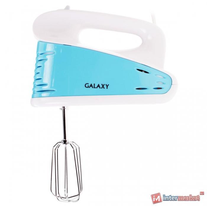 Миксер Galaxy GL2208, ГОЛУБОЙ