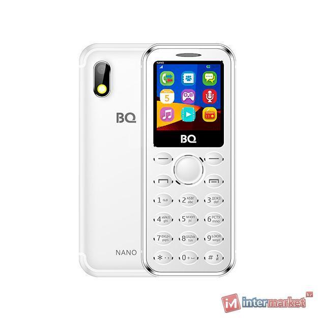 Мобильный телефон BQ-1411 Nano Серебряный /