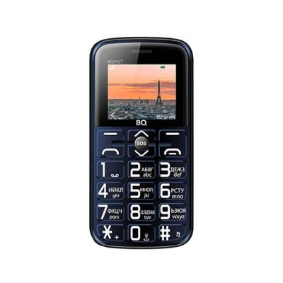 Мобильный телефон BQ-1851 Respect Синий /
