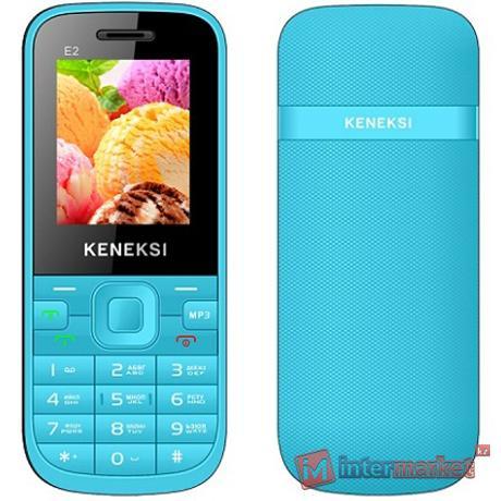 Мобильный телефон Keneksi E2, Blue