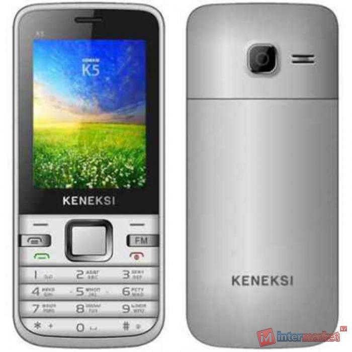 Мобильный телефон KENEKSI K5 silver