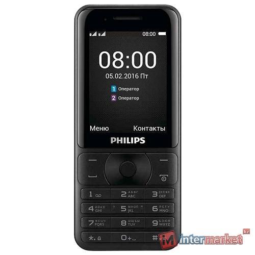 Мобильный телефон Philips E181, черный